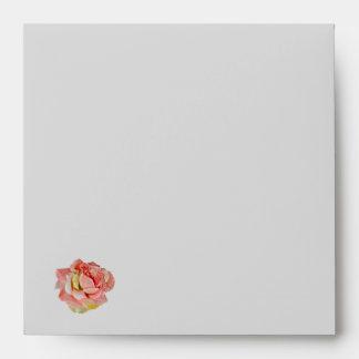 Rose and Chrome Envelope