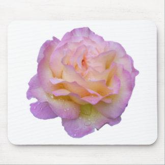Rose and dew-drop mousepads