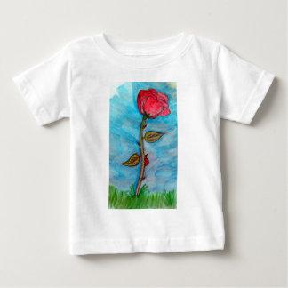 Rose and Ladybug Tee Shirt