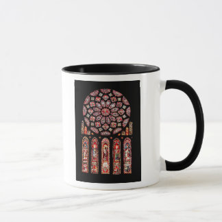 Rose and lancet windows from the north wall mug