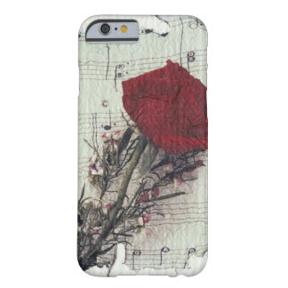 <Rose and Music> by Kim Koza 2 Barely There iPhone 6 Case