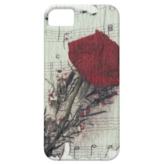 <Rose and Music> by Kim Koza 2 iPhone SE/5/5s Case