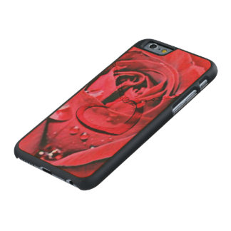 Rose and Necklace (U) Carved® Maple iPhone 6 Case