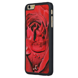 Rose and Necklace (U) Carved® Maple iPhone 6 Plus Slim Case