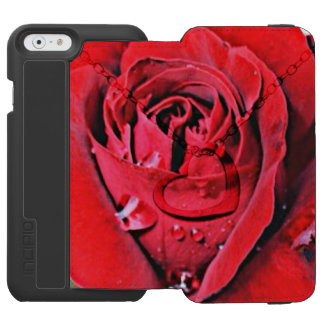 Rose and Necklace (U) iPhone 6/6s Wallet Case