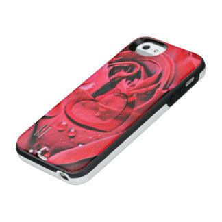 Rose and Necklace (U) iPhone SE/5/5s Battery Case