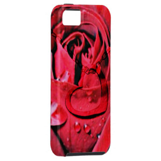 Rose and Necklace (U) iPhone SE/5/5s Case