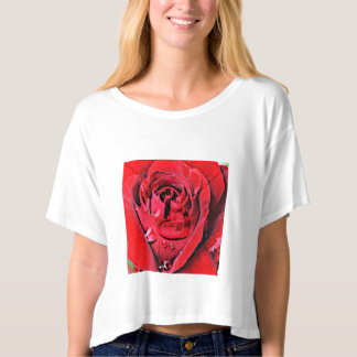 Rose and Necklace (U) T-shirt