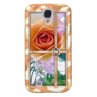 Rose and Pearl iPhone 3g Case Samsung Galaxy S4 Cases