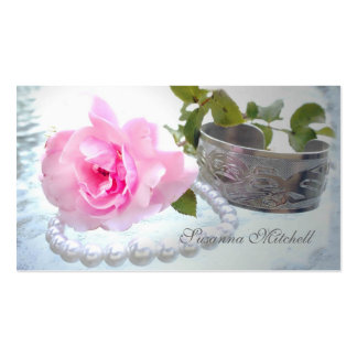 Rose and Pearls Business Card