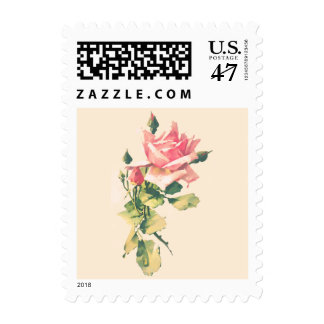 Rose and Rosebud Special Occasion Postage