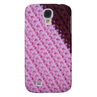 Rose and Wine Crochet Samsung Galaxy S4 Cover