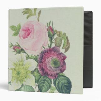 Rose, anemone and Clematide Vinyl Binder