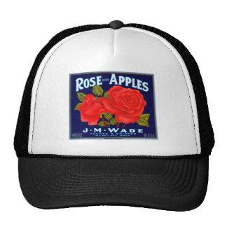 Rose Apples Wenatchee Washington Trucker Hat