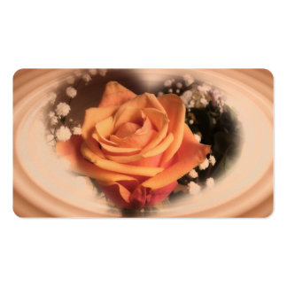 Rose Apricot Business Card