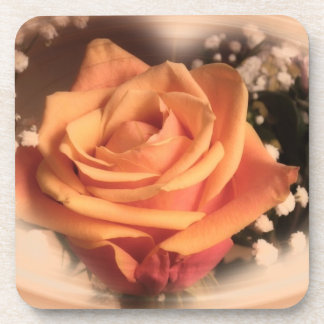 Rose Apricot Drink Coaster