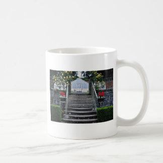 Rose arch, Annahill Gardens, Kilmarnock, Scotland Classic White Coffee Mug