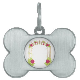 Rose Arch Pet Tags