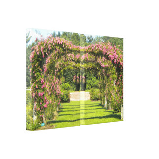 Rose Arch Wrapped Canvas Prints
