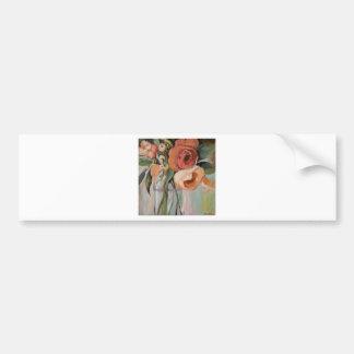 Rose arrangement bumper sticker