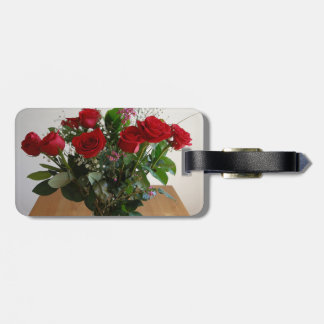 Rose Arrangement Bag Tag