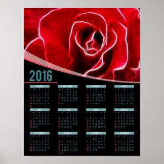 Rose art 2016 poster calendar