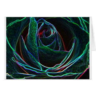 rose art card