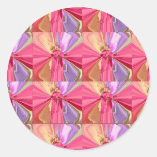 Rose Art Celebration Series 2012 Classic Round Sticker