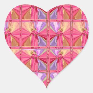 Rose Art Celebration Series 2012 Heart Sticker