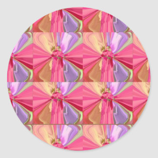 Rose Art Celebration Series 2012 Round Stickers