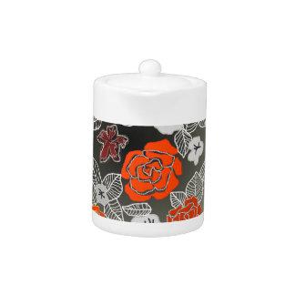Rose Art Teapot