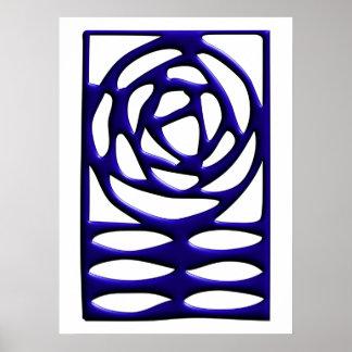 Rose Arts & Crafts Ornament Poster
