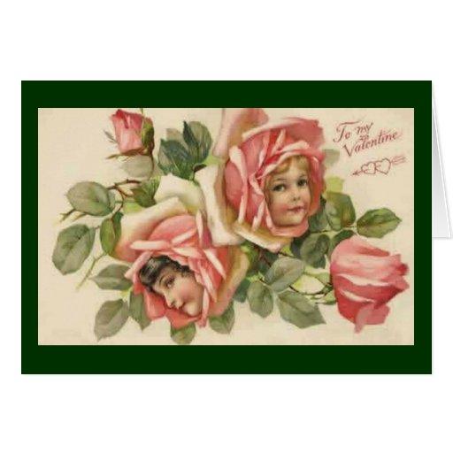 Rose Babies - Valentine Card