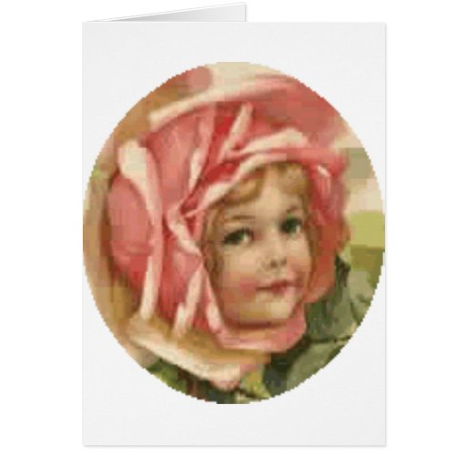 rose baby valentine gifts and apparel greeting card