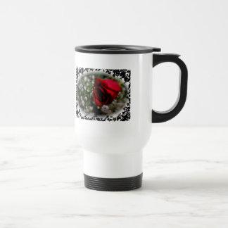 Rose & Baby's Breath Travel Mug