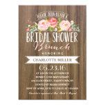 Rose Banner Brunch | Bridal Shower Card