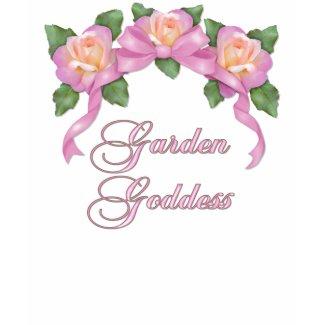 Rose Banner Garden Goddess shirt
