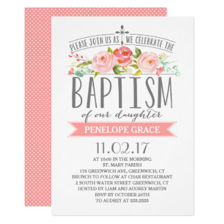 Baby Baptism Invitations & Announcements | Zazzle