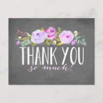 Rose Banner | Thank You Card