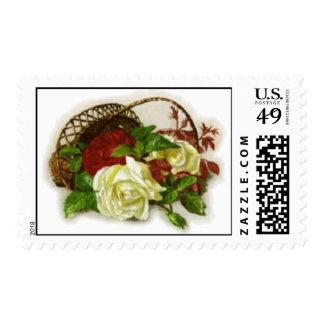 Rose Basket Postage