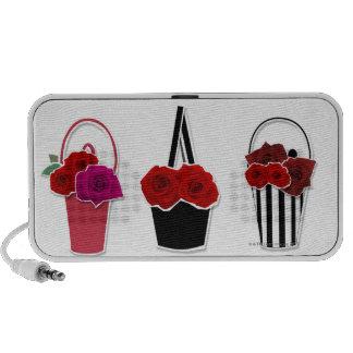 Rose Baskets Travelling Speakers