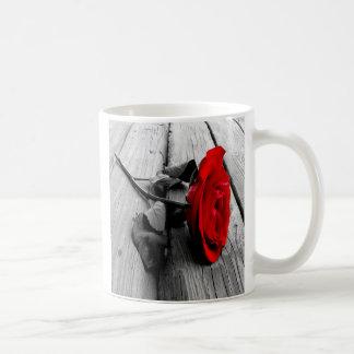 rose, BE MY, VALENTINE Mug
