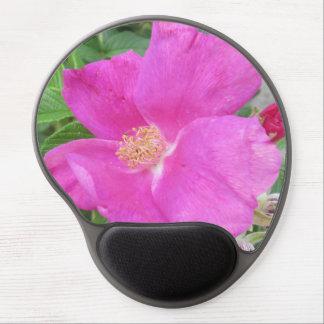 Rose Beach Plum Pink Gel Mouse Pads