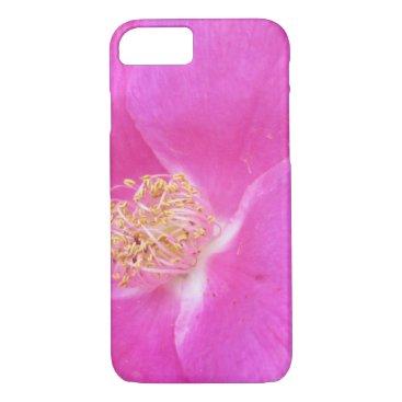 Beach Themed Rose Beach Plum Pink iPhone 7 Case