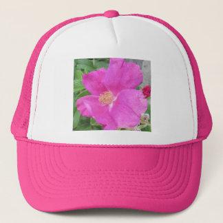 Rose Beach Plum Pink Trucker Hat