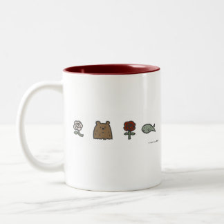 Rose-Bear-Rose-Fish mug