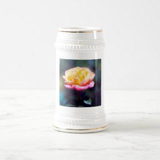 Rose Beer Stein