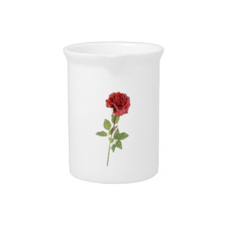ROSE BEVERAGE PITCHER