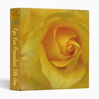 Rose Binder Yellow Rose Photo Album Binder Custo Binders