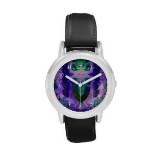 Rose Birds, Abstract Wristwatches